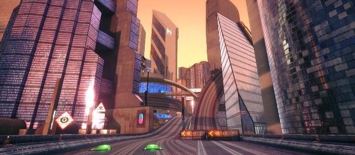 GRIP: Combat Racing - Hive Horizon (Orbital Prime) (City)