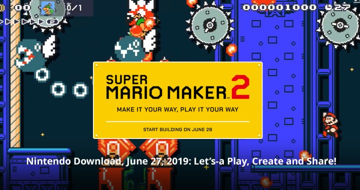 Nintendo Download, June 27, 2019: Let's-a Play, Create and Share!