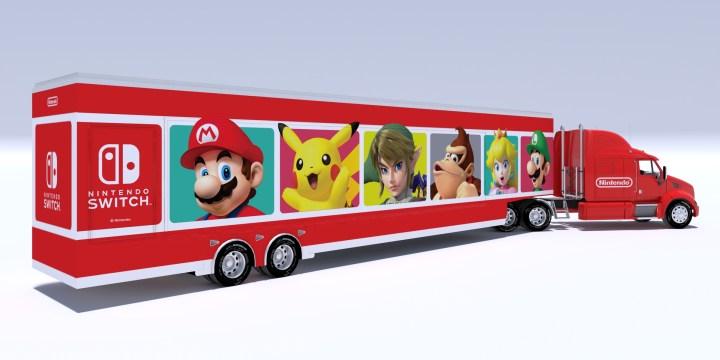 Nintendo Road Trip - Truck