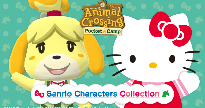 Animal Crossing: Pocket Camp with Hello Kitty® and Cinnamoroll