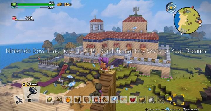 Nintendo Download, July 11, 2019: Build the Fantasy World of Your Dreams