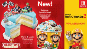 Icy Cool Reward for My Nintendo Members at Cold Stone Creamery!