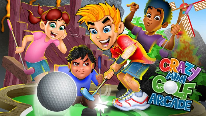 Crazy Mini Golf Arcade