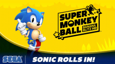Sonic the Hedgehog Rolls In To Super Monkey Ball: Banana Blitz HD!