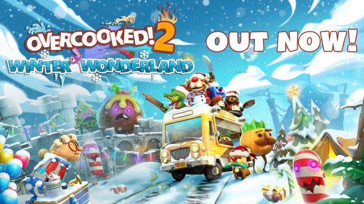Free Winter Wonderland Update Brings Festive Cheer to Overcooked! 2
