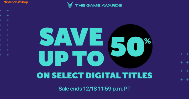 Join The Game Awards Festivities by Saving on Select Digital Titles for Nintendo Switch