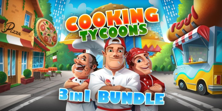 Cooking Tycoons - 3 in 1 Bundle