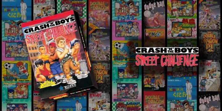 Crash'n the Boys Street Challenge