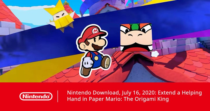 Nintendo Download, July 16, 2020: Extend a Helping Hand in Paper Mario: The Origami King