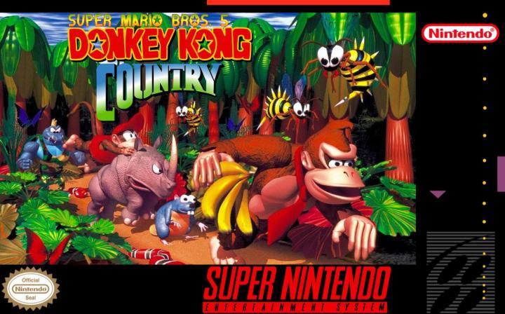 Donkey Kong Country box