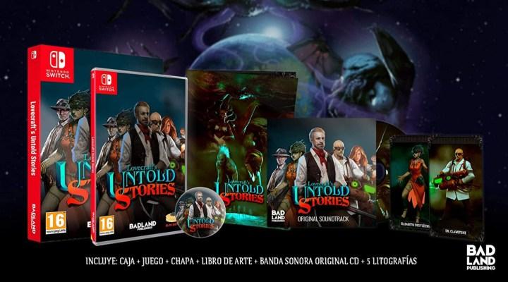 Lovecraft's Untold Stories - Collectors Edition