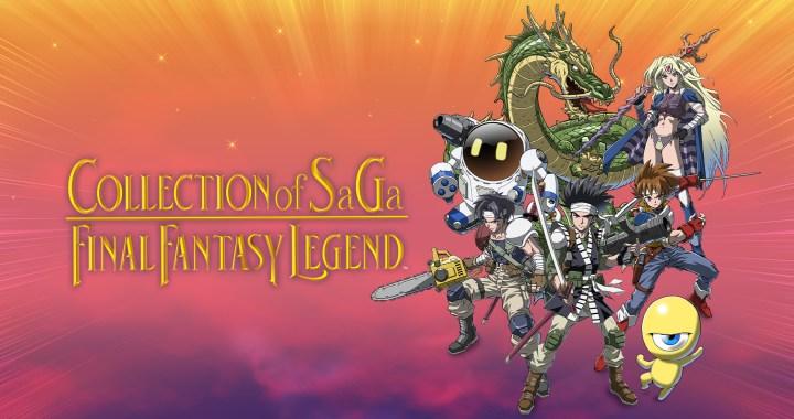 Switch COLLECTION of SaGa FINAL FANTASY LEGEND Key Art