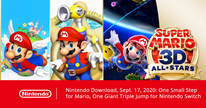 Nintendo Download, Sept. 17, 2020: One Small Step for Mario, One Giant Triple Jump for Nintendo Switch