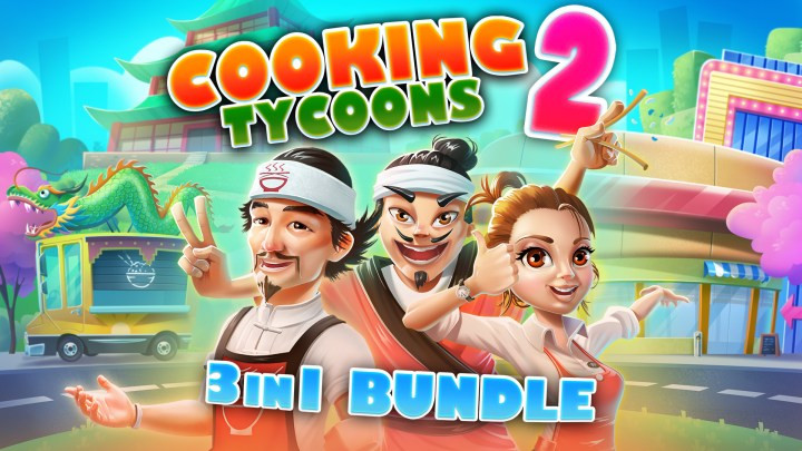 Cooking Tycoons 2 - 3 in 1 Bundle