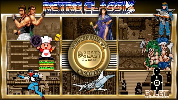 Retro Classix Collection #1: Data East