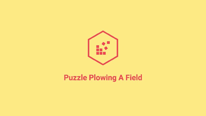 Puzzle Plowing A Field