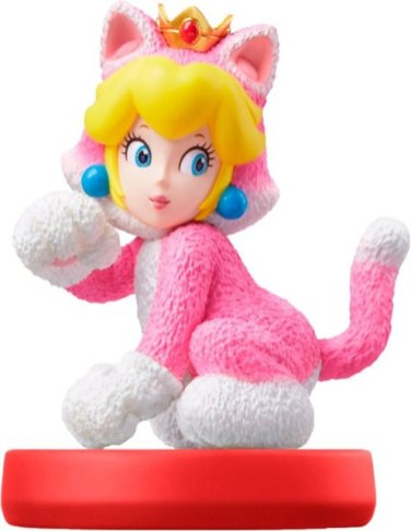 Cat Peach amiibo