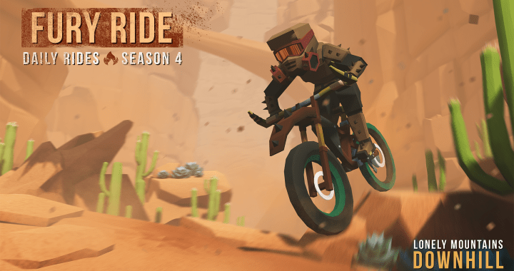 Lonely Mountains: Downhill Daily Rides Season 4: FURY RIDE