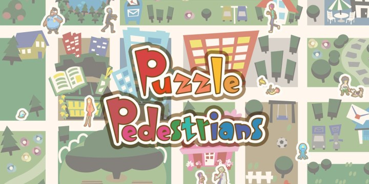 Pixel Game Maker Series Puzzle Pedestrians