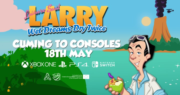 egendary ladies man Larry Laffer is headed to Xbox One, PlayStation 4, and Nintendo Switch on 18th May, 2021, in Leisure Suit Larry: Wet Dreams Dry Twice.