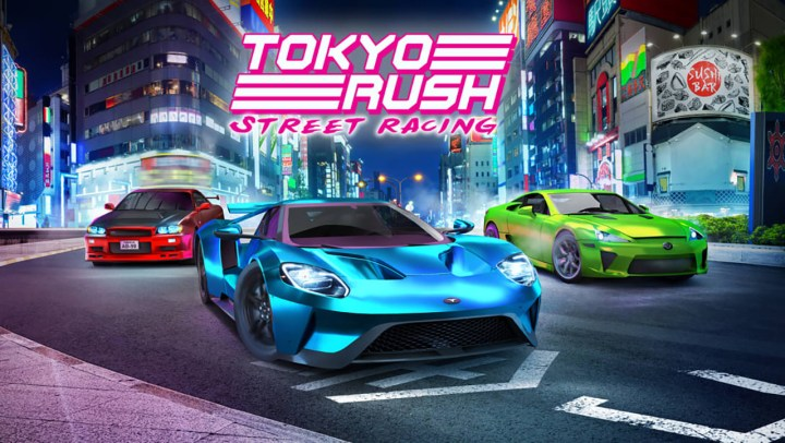 Street Racing: Tokyo Rush
