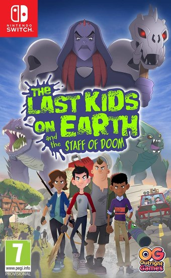 The Last Kids on Earth and the Staff of Doom - Box Art