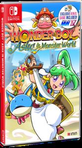 Wonder Boy: Asha in Monster World - Retail box art
