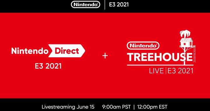 This year's E3 is going virtual, on June 15 both the Nintendo Direct video presentation and Nintendo Treehouse: Live livestream airs