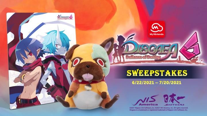 DISGAEA 6: Defiance of Destiny My Nintendo Sweepstakes!