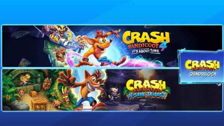 Crash Bandicoot™ - Quadrilogy Bundle