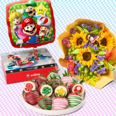 Flower Cup Anniversary FruitFlowers