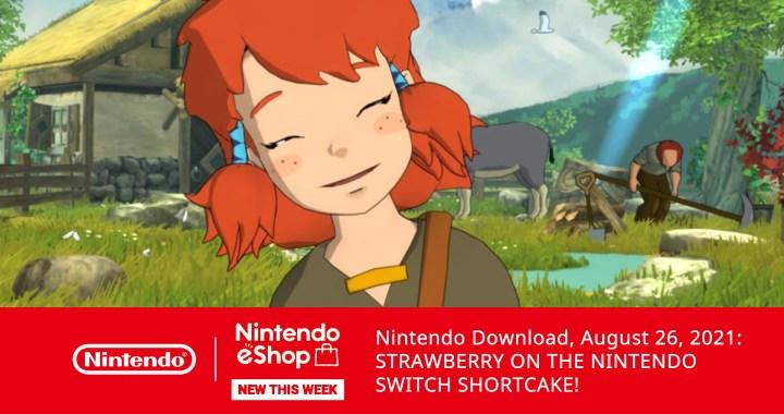 NintendoDwonload08262021 STRAWBERRY ON THE NINTENDO SWITCH SHORTCAKE 01