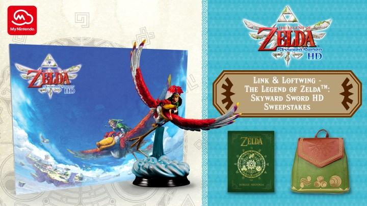 The Legend of Zelda: Skyward Sword HD Sweepstakes