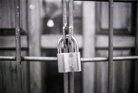 padlock protecting business