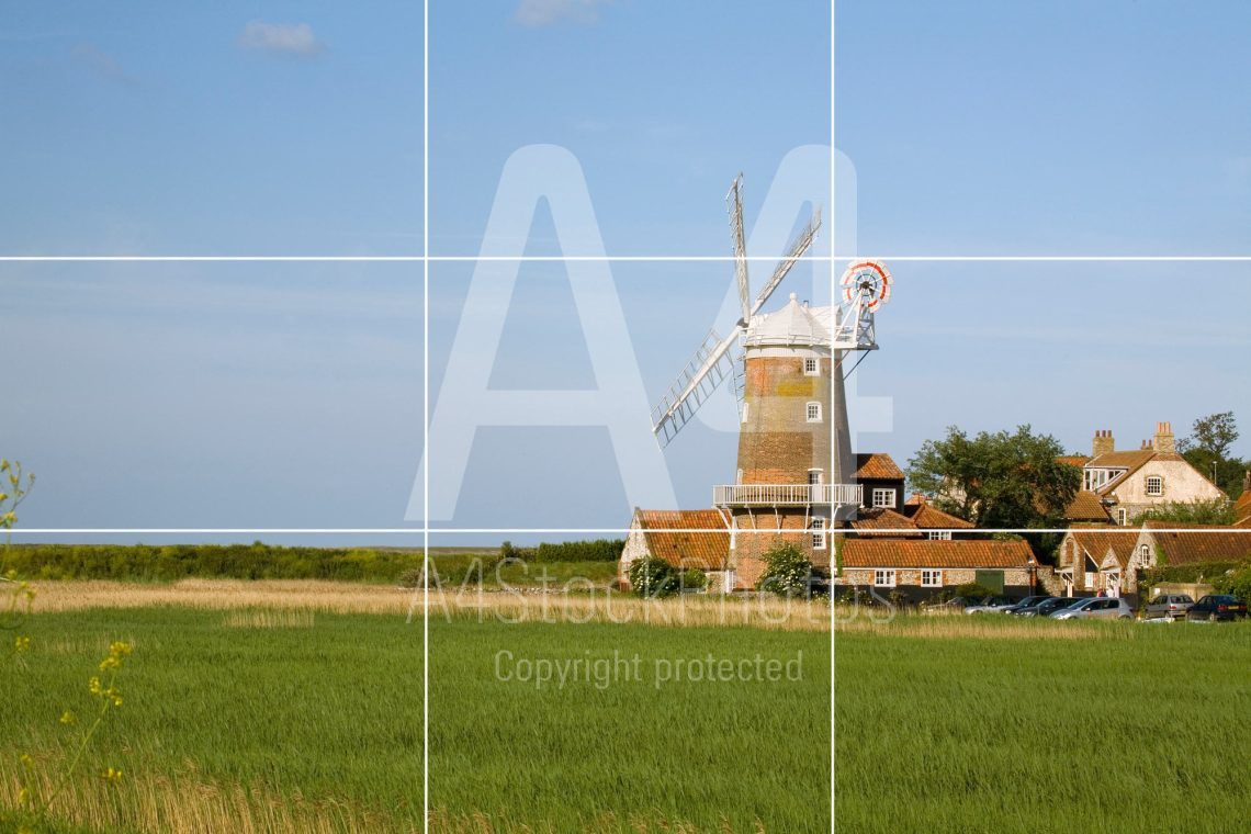 Principles of landscape photography: the rule of thirds