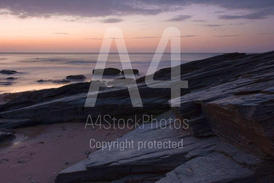 Sunset landscape photography is most effective shortly after sunset