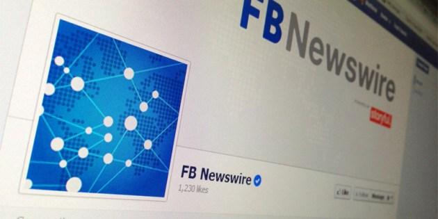 Facebook lança Newswire para transformar posts públicos em notícias