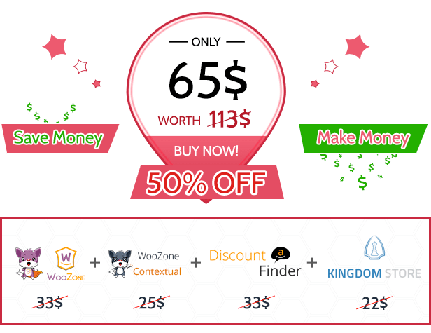 ADF - Amazon Discount Finder for WordPress 1