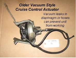 Diagnose Cruise Control