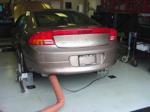Image result for emission test cars