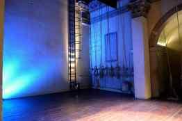 particolare palco