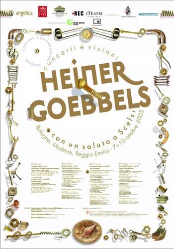Heiner Goebbels - Concerti contemporanei 2