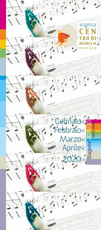 Programma Centro di Ricerca Musicale Stagione 2019 > 2020 – sesto anno - gennaio > febbraio > marzo > aprile; 2019
