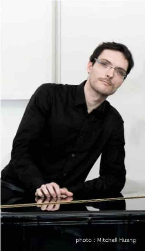 Julien Martineau (photo by Mirchell Huang)