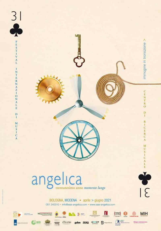 Poster - Festival AngelicA 31, 2021 - aaa art angelica