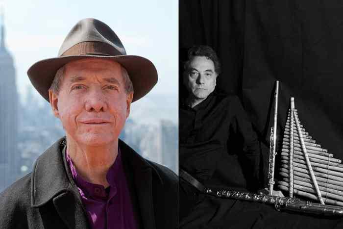 Thomas Buckner (Photo by Stefan Falke) + Gianni Trovalusci (Photo by Gloria Consoli)