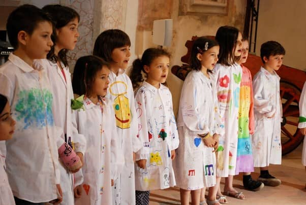Piccolo Coro Angelico (photo by Erica Salbego)
