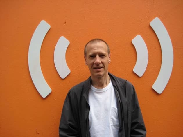 Christian Marclay (phoyo by the Daily Eye)