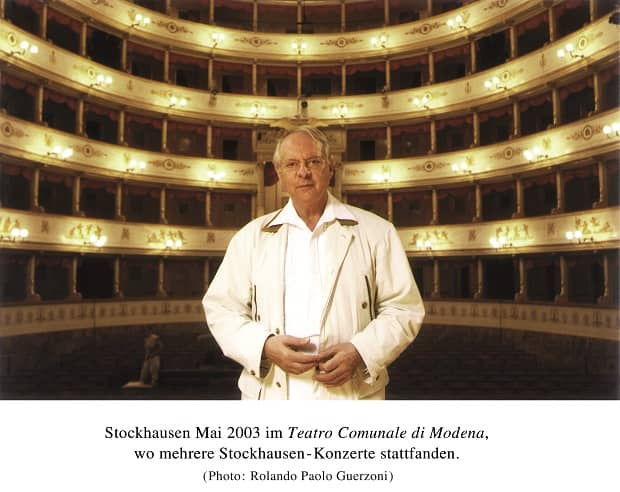Stockhausen - Modena 2003