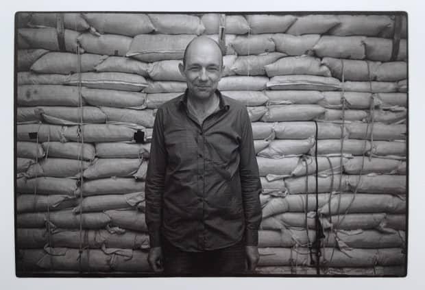 Laurence Crane (photo by Anton Lukoszevieze)